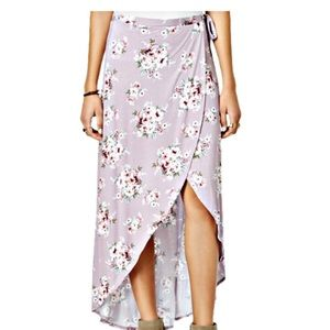 High-Low Maxi Skirt